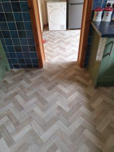 Carpet/Vinyl Fitter. Kitchen Vinyl.